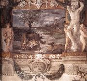 The Stories of Jason (detail) df CARRACCI, Lodovico